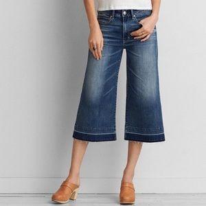 American Eagle Festival Crop Jeans Super Stretch